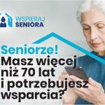 """""""Wspieraj Seniora"""" – kontynuacja programu"""